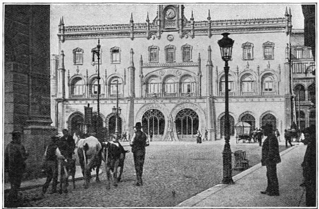Centraalstation te Lissabon.