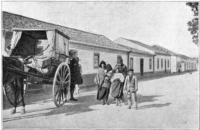 Het dorp Odiachre in Algarvië.