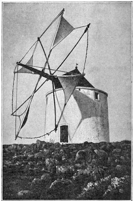 Portugeesche windmolen.