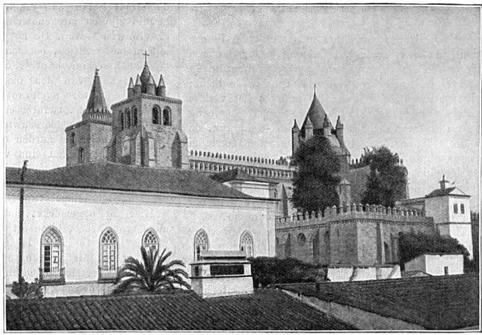 Kathedraal te Evora.