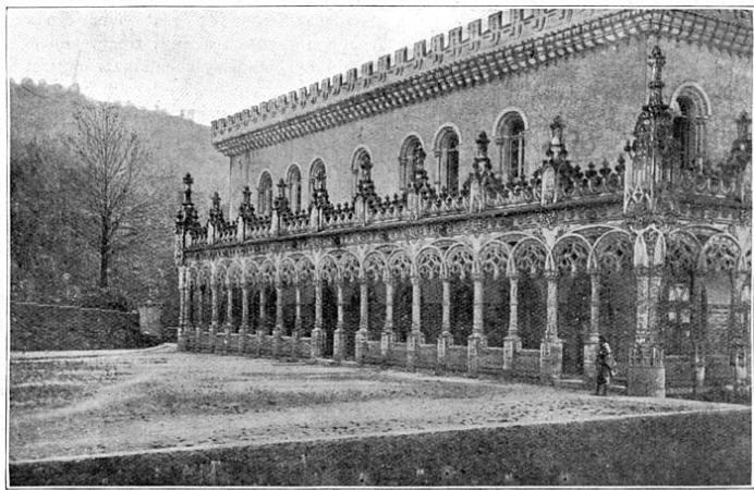 Het Bussaco-paleis.