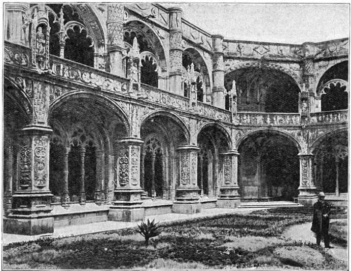 Het schoone klooster van Belem.