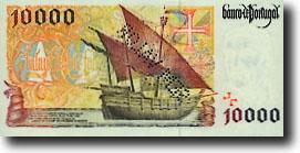 10000 escudo-biljet