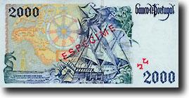 2000 escudo-biljet