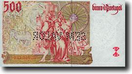 500 escudo-biljet