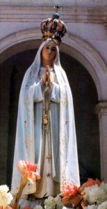 Mariabeeld Fatima Portugal